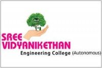 SREE VIDYANIKETHAN ENGINEERING COLLEGE THIRUPATI